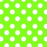 E-3133 Lime Sunny Dots