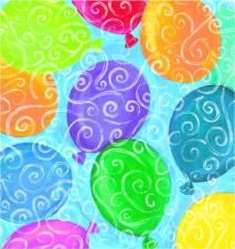 E-5207 Balloons Galore