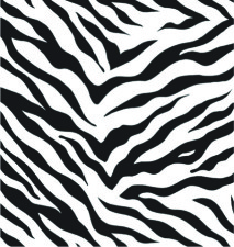 M-2127 Zebra Stripes