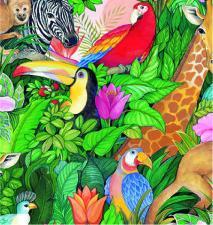 M-7204 Jungle Paradise