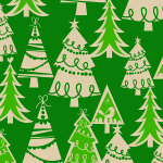 X-3151 Holiday Forest / Kraft