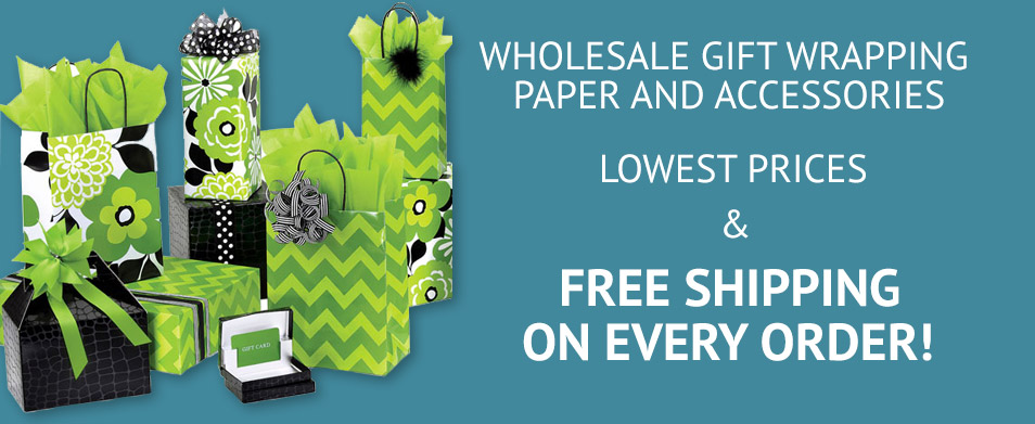 Wholesale Gift Wrap Rolls and Accessories